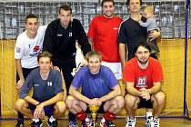 Vítězové turnaje - volejbalisté Chabařovic.