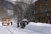 Krušné hory nabízejí milovníkům zimních sportů spousty krásných míst.