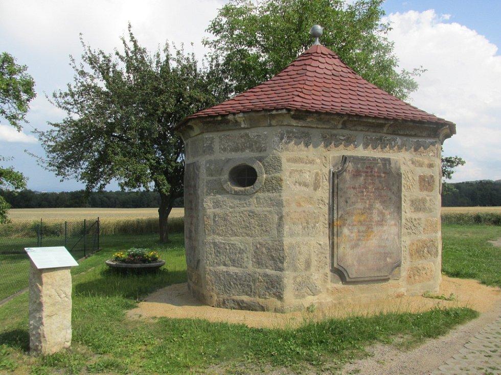 Rourový domek je ukázkou vodárenství z 18. století.