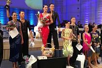 Další stříbrnou medaili pro Ústecký kraj získali Ondřej Sliška a Daniela Valjentová na Mistrovství ČR v taneční kombinaci ve Zlíně.