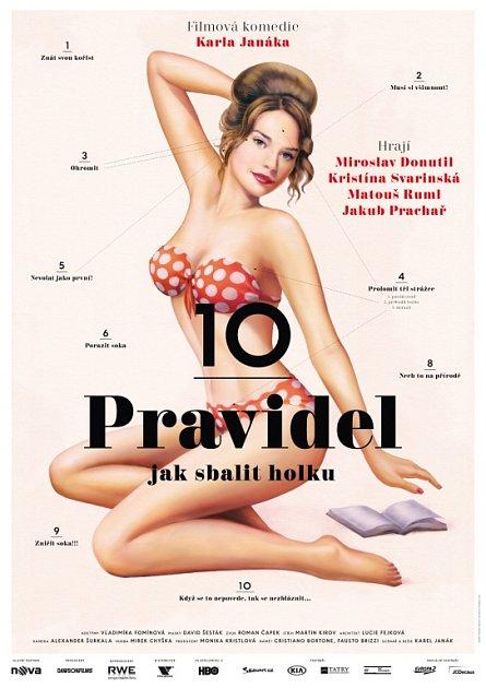 Plakát kfilmu 10pravidel jak sbalit holku.