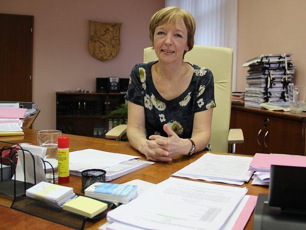 Eva Outlá - starostka Střekova.