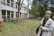 Opuštěné jesle v Kamenné ulici na Střekově
