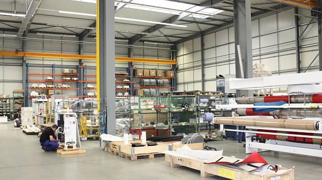 Logistické centrum. Ilustrační foto