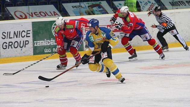 HC Slovan Ústečtí Lvi - SK Horácká Slavia Třebíč