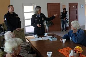 Ilustrační snímek. Policisté školili seniory.
