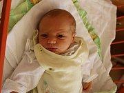 Tadeáš Formánek se narodil Heleně Formánkové z Černochova 8.dubna ve 14.23 hod. v ústecké porodnici. Měřil 50 cm a vážil 3,31 kg