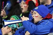 Před týdnem fandili diváci na Městském stadionu reprezentaci, v pátek budou držet palce FK Ústí.