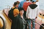 Helena Heřmánková z Bíliny se na dovolené v Egyptě potopila pod mořskou hladinu v této ponorce.