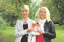 Halka Žáčková a Jana Procházková.