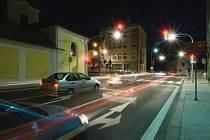 Křižovatky na silnici II/263 v průtahu Rumburkem, jeden ze čtyř projektů z Ústeckého kraje, která města již realizovala a v letošním roce přihlásila do celostátní soutěže Cesty městy.