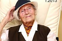 Anička Walterová oslaví 105. narozeniny.