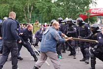 Ústecká policie si na konec školního roku ve spolupráci s integrovaným záchranným systémem připravila pro malé Ústečany akci Policie dětem.