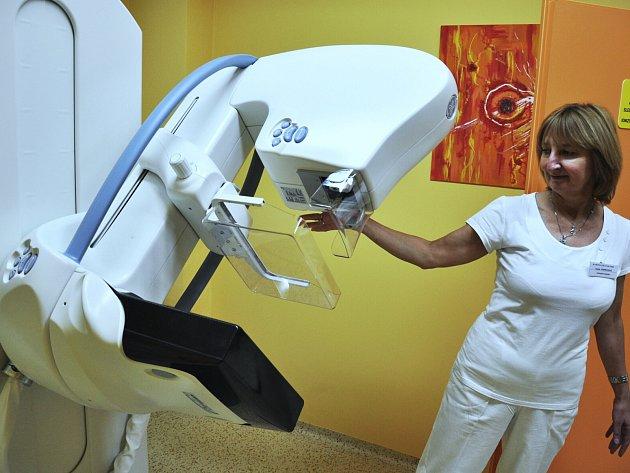 Ilustrační foto mamograf