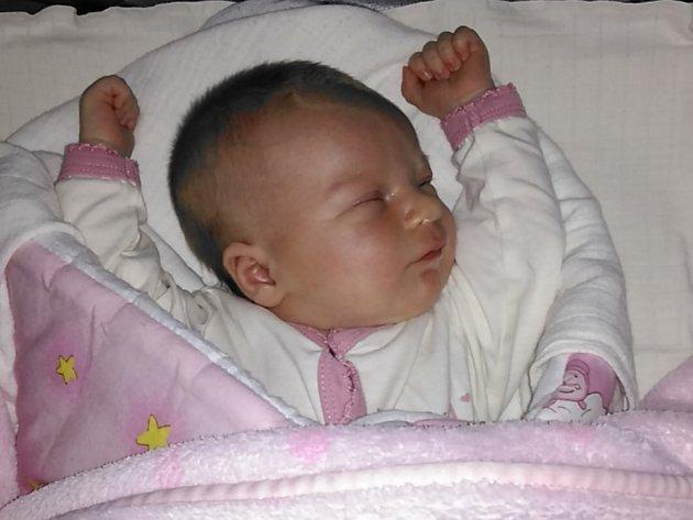 Natálie Smetanová se narodila v ústecké porodnici 23.9.2016 (16.05) Zdeňce Smetanové. Měřila 51 cm a vážila 3,89 kg.