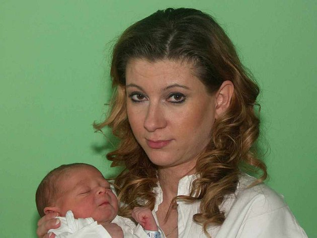 Zdeňka Kubíčková s Jakubem, 13.1.2008