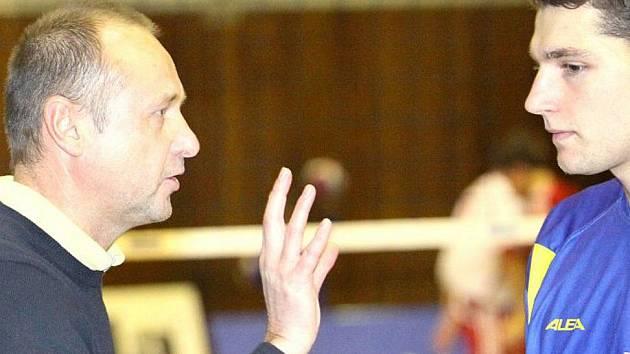 Trenér Miroslav Malán.