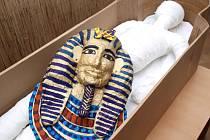 Život ve starověkém Egyptě, tak se jmenoval doprovodný program v muzeu.