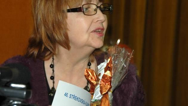 Vítězka 1. ceny Alena Krejčová.