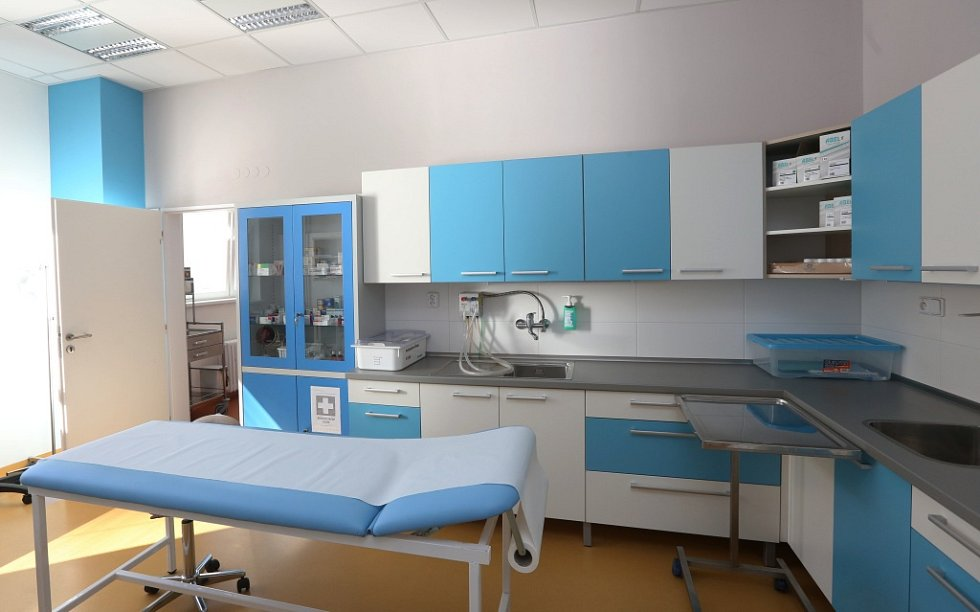 Moderní prostory ORL slouží pacientům i zdravotníkům Masarykovy nemocnice.