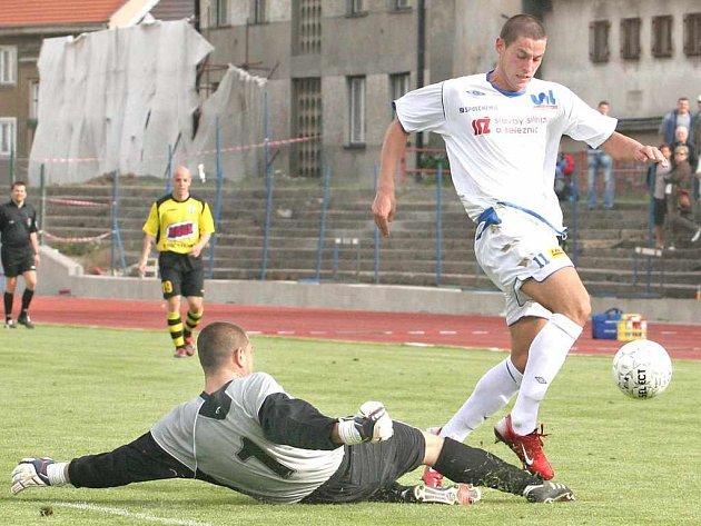 Fotbalisté Ústí a Jakubčovic