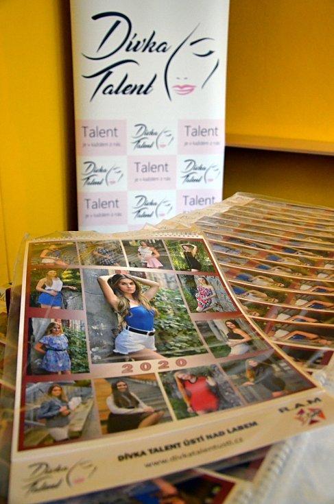 Kalendář soutěže Dívka talent pro rok 2020