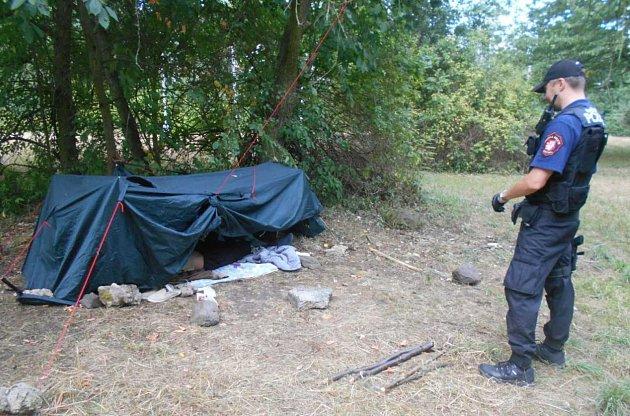 Žena stanovala přímo na sídlišti Severní Terasa.