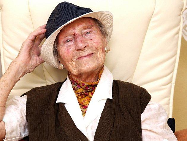 Anička Walterová se dožila 106 let.