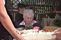 Ústečanka Marie Vitverová oslavila významné životní jubileum - 100 let.
