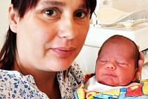 Filip Liška se narodil v teplické porodnici 16.9.2015 (20.20) mamince Haně Polkorábové. Měřil 47 cm, vážil 2,75 kg.