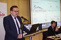 MINISTR JAN MLÁDEK na konferenci o budoucnosti českého exportu v Ústí.