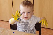 Malí velcí umělci tvořili rukama.