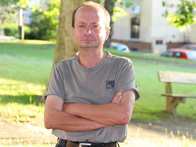 Bývalý bezdomovec Jiří Česal.