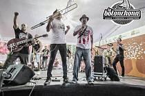 Mexická kapela La Bolonchola.