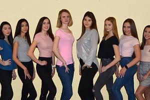 Finalistky soutěže Dívka Talent 2020 a Dívka Deníku