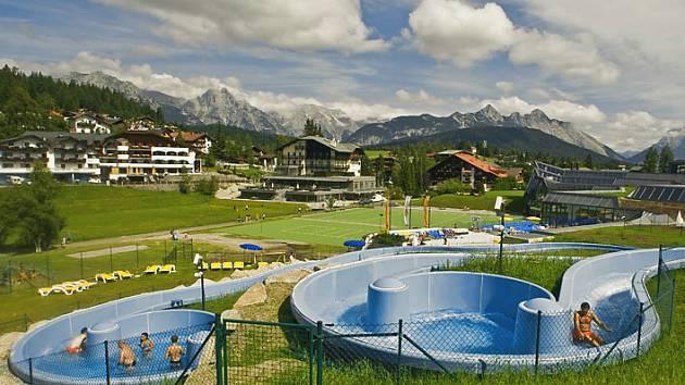 Olympijský region v Tyroslku Seefeld.