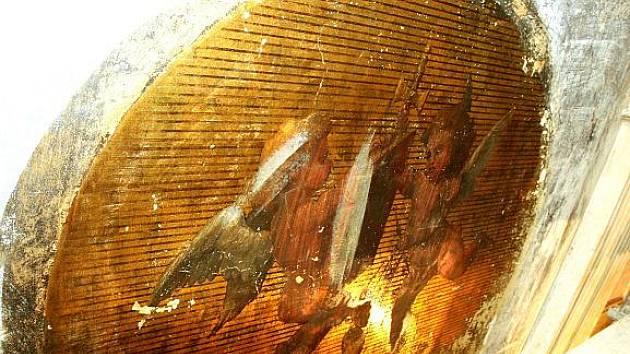 V ústeckém muzeu byla objevena původní malba.