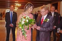 Máme se rádi, chceme spolu žít v manželství. Vzkázali všem snoubenci Pavel Boček a Pavla Běloubková.