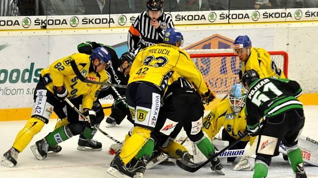 Na ledě druhého celku byli Lvi Snadnou kořistí. Mladé Boleslavi od začátku nestačili.