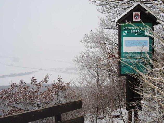 Boreč láká zejména v zimních měsících.