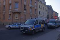Krásné Březno zažilo policejní akci kvůli drogám.