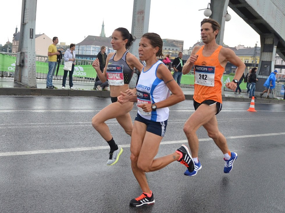 Ústecký půlmaraton 2016.