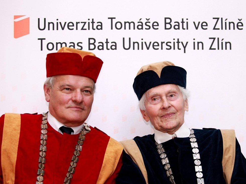 Zikmund na Baťově univerzitě.