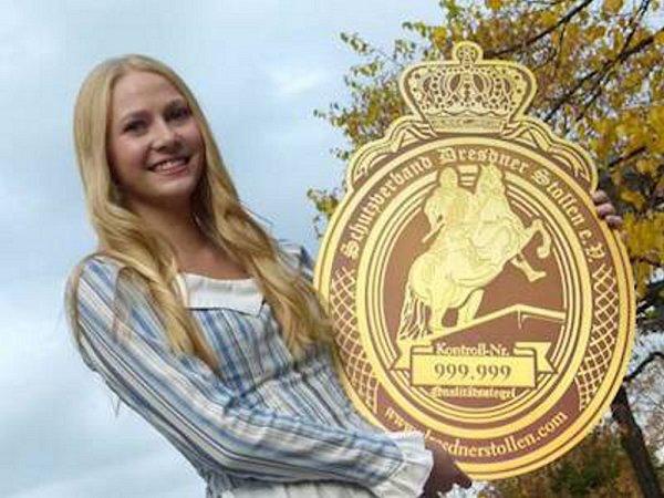 Loňská štolová dívka Friederike Pohl.