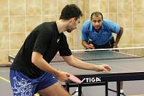 Arabští stolní tenisté trénují v Ústí.