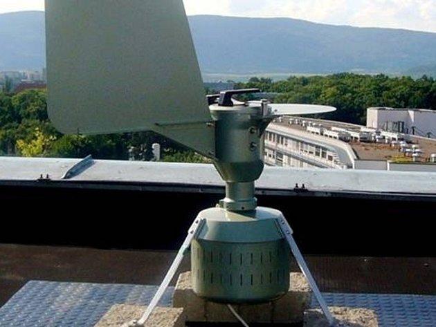 Stanice Pylové informační služby, pylový lapač Burkard.