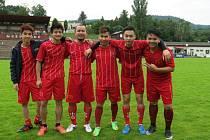 Fotbalová oslava 65. výročí vietnamsko-českých vztahů se konala v Neštěmicích.