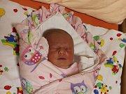 Kristýna Petříková se narodila 7.12. (0.11) Michaele Langové. Měřila 50 cm, vážila 3,85 kg.