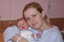 Ondřej Falis, se narodil v ústecké porodnici dne 24. 3. 2013 (15.53) mamince Šárce Kostkové, měřil 47 cm, vážil 2,8 kg.