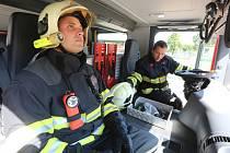 Nový zásahový vůz značky Scania získali ústečtí hasiči.